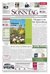 Wir sind Potsdam. - Potsdamer Neueste Nachrichten