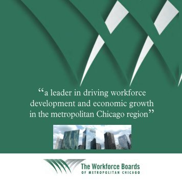 Download our brochure - The Workforce Boards of Metropolitan ...