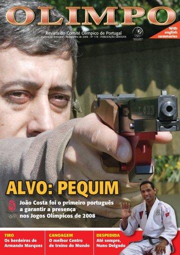 ALVO: PEQUIM - Comité Olímpico de Portugal
