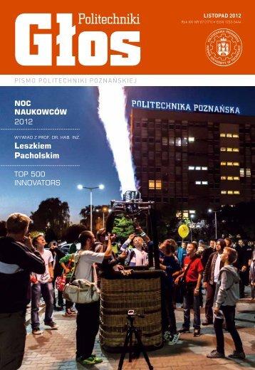TOP 500 - Aktualności Politechniki Poznańskiej