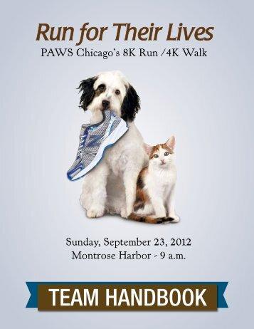 TEAM HANDBOOK - PAWS Chicago