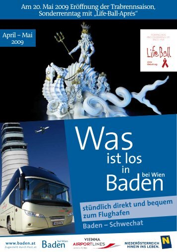 Veranstaltungen - Baden