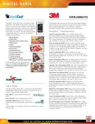 DIGITAL MEDIA - Midwest Sign & Screen Printing Supply