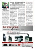 AIEE helps cafes follow the espresso regulations - Boughton's ... - Page 5