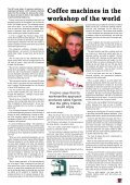 AIEE helps cafes follow the espresso regulations - Boughton's ... - Page 7