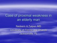 McArdel's Disease Adult form - Florida Society of Neurology