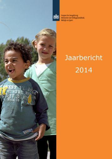 Jaarbericht 2014 - Inspectie Jeugdzorg