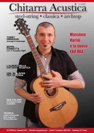 Massimo Varini e la nuova EKO MIA - Fingerpicking Net