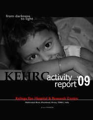 KEHRC Activity Report 2009 - NYSASDRI