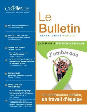 Le Bulletin - mars 2012 - CREVALE