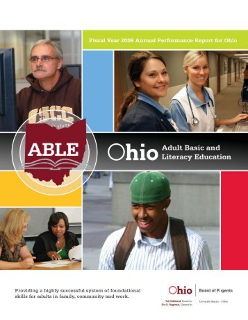 Fiscal Year 2009 Annual Performance Report for Ohio