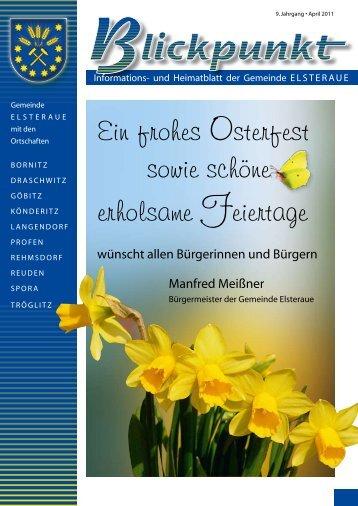Geburtstagsglückwünsche - Gemeinde Elsteraue