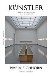 maria eichhorn - Zeit Kunstverlag