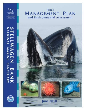 Stellwagen Bank - National Marine Sanctuaries - NOAA