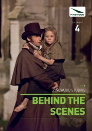 BEHIND THE SCENES - Pinewood Studios
