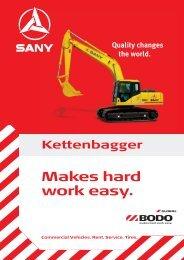Motor/Leistung Makes hard work easy.