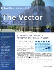 1 - DHVI Newsletter Cover.tif - Duke Human Vaccine Institute