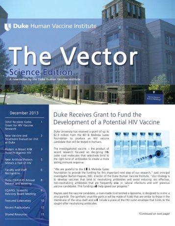 1 - DHVI Newsletter Cover.tif - Duke Human Vaccine Institute