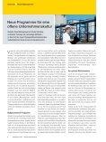 Neue Programme für eine offene Unternehmenskultur - Seite 2