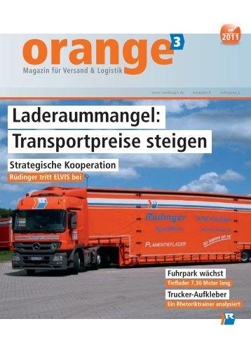 Laderaummangel - Rüdinger Spedition GmbH