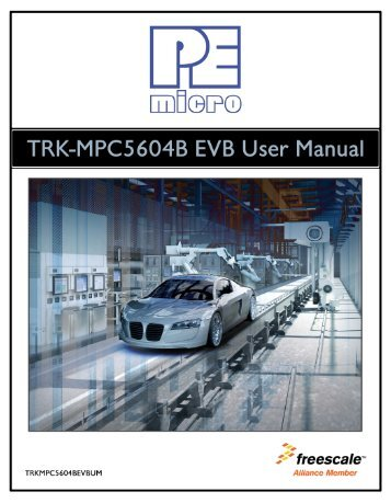 Trkusb-mpc5604b user manual v. 1. 00. Book.