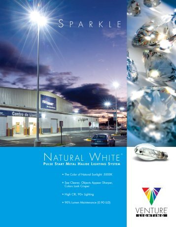 S P A R K L E NATURAL WHITE - Venture Lighting