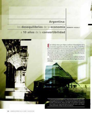 Argentina - revista de comercio exterior