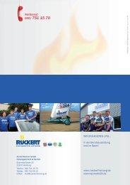 Firmenbroschüre als Download - Arnold Rückert GmbH