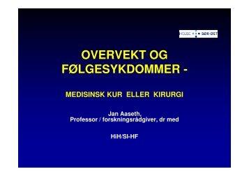 Overvekt: slankekur eller kirurgi - Sykehuset Innlandet HF
