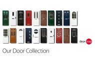 Our Door Collection - Wembley Windows