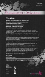 Winemaster's Selection December 2011 - Mixed - The Wine Society