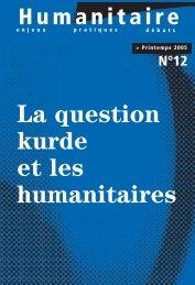 Revue Humanitaire n°12 - avril 2005 - Médecins du Monde