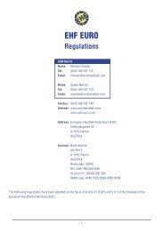 EHF EURO - European Handball Federation