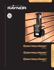 Download ControlHoist Brochure PDF file - Raynor Garage Doors