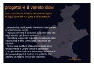 progettare il veneto slow - PTRC Piano Territoriale Regionale di ...