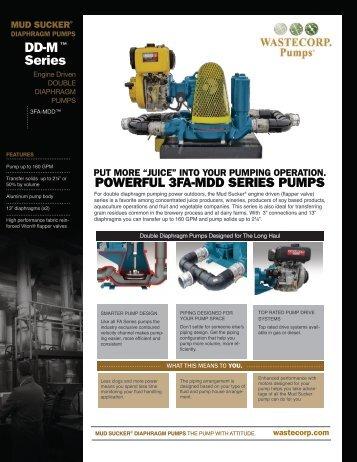 3FA-MDD (engine) - Wastecorp Pumps