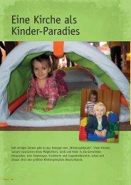 Eine Kirche als Kinder-Paradies - Ev. St. Matthäus- Gemeinde