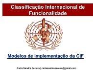 Classificação Internacional de Funcionalidade - APF