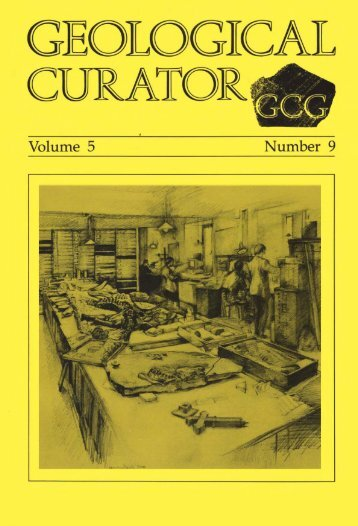 Number 9 - Geological Curators Group
