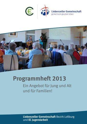 Programmheft 2013 - Loßburg