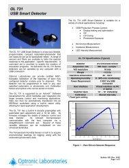 OL 731 USB Smart Detector - Instrumentation