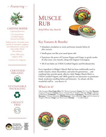 Muscle & Joint Pain Relief