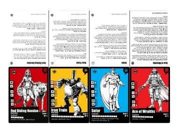Starter Set Cards