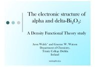 A Density Functional Theory study