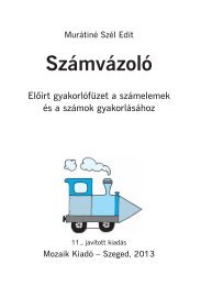 betekintés a kiadványba - Mozaik Kiadó
