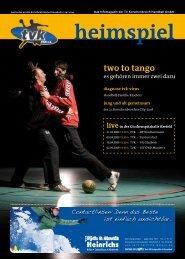 two to tango - TV Korschenbroich Handball