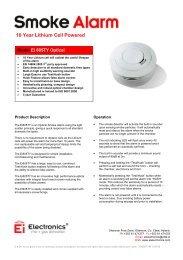 Ei605TY - Optical with 10 Year Battery - Ei Electronics