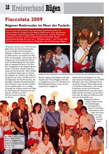 12 KreisverbandRügen Fiaccolata 2009 Rügener Rotkreuzler im ...