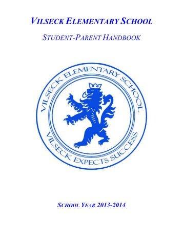 13-14 Handbook - DODEA Vilseck American Elementary School