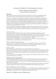 Kapitel 1: Einführung / Hinführung